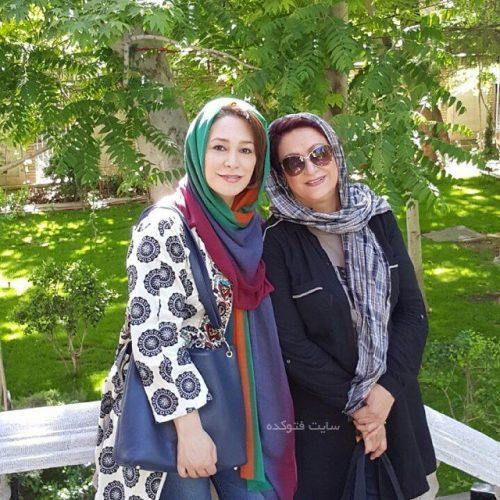 عکس مریم امیرجلالی و دخترش + بیوگرافی