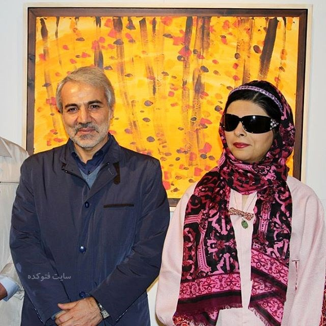 عکس مریم حیدرزاده و محمدباقر نوبخت سخنگوی دولت روحانی