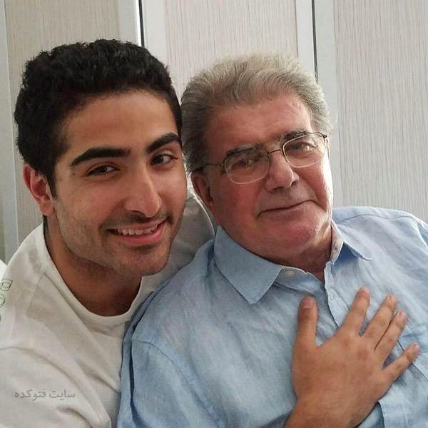 عکس محمدرضا شجریان و پسرش بعد از بیماری سرطان