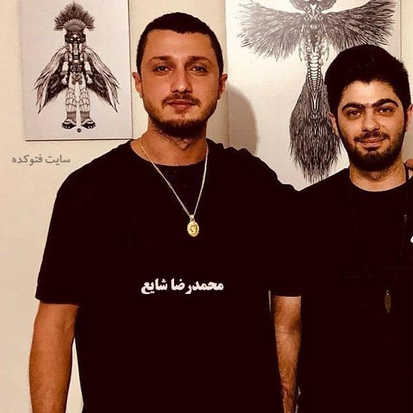 عکس واقعی محمدرضا شایع خواننده + زندگی شخصی