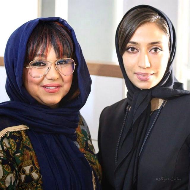 عکس معصومه تاجیک و بهنوش بختیاری
