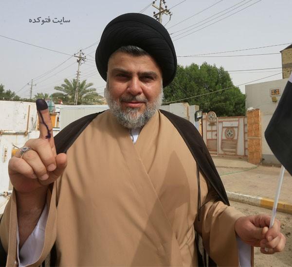 muqtada al sadr photokade com 4 - بیوگرافی مقتدی صدر و ماجرای همسرش + داستان زندگی
