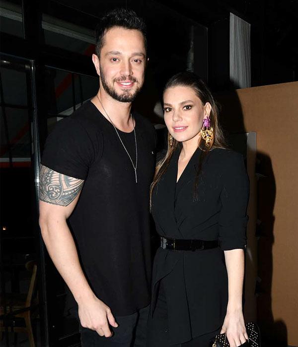مورات بوز و همسرش اصلی انور