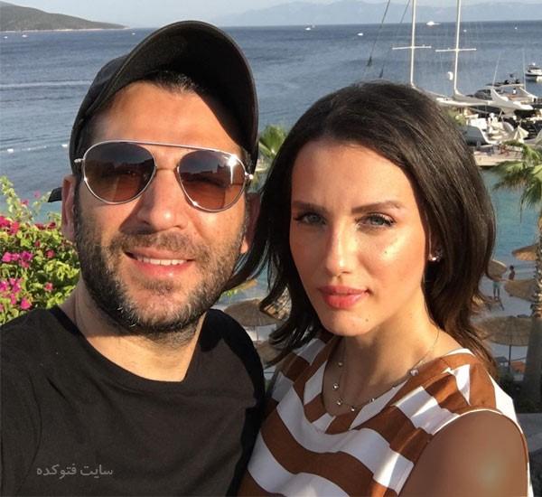 مراد ییلدریم و همسرش ایمان البانی