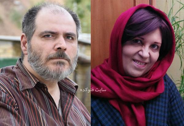 بیوگرافی سید مهرداد ضیایی و همسرش