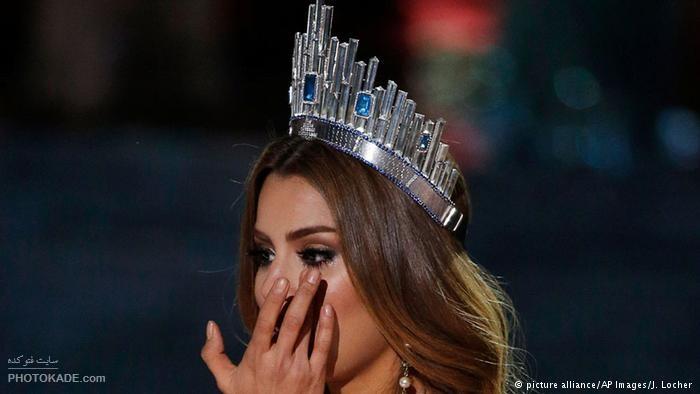 جنجال تاجگذاری اشتباه در مراسم ملکه زیبایی 2015
