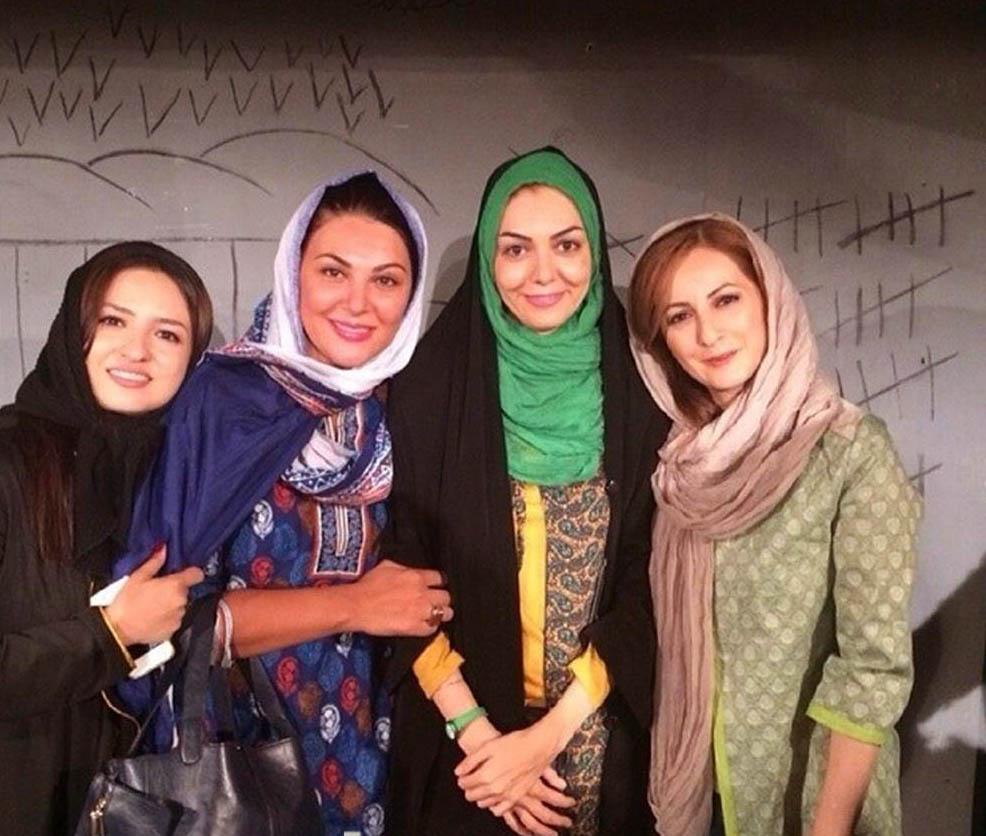 عکس جدید آزاده نامداری 93 بعد از طلاق با فرزاد حسنی