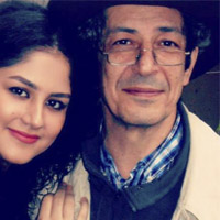 عکس نادر مشایخی و سحر محمدی + زندگی شخصی