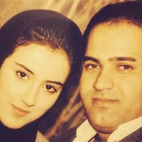 بیوگرافی نادر سلیمانی و همسرش پری صمدی + عکس خانوادگی