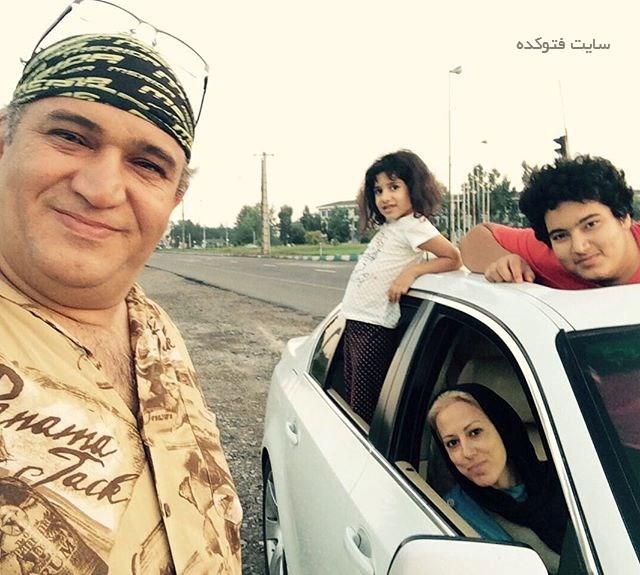 عکس همسر و فرزندان نادر سلیمانی + بیوگرافی کامل زندگی شخصی