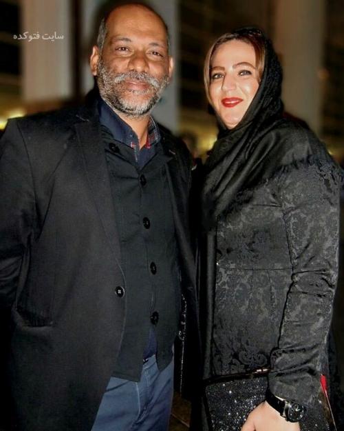 عکس نادر فلاح و همسرش + بیوگرافی کامل