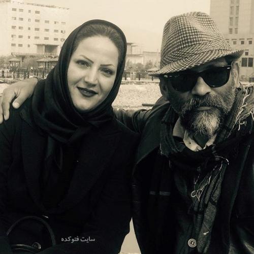 عکس همسر نادر فلاح + بیوگرافی