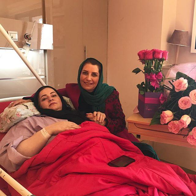 عکس ملاقات فریبا کوثری با نعیمه نظام دوست