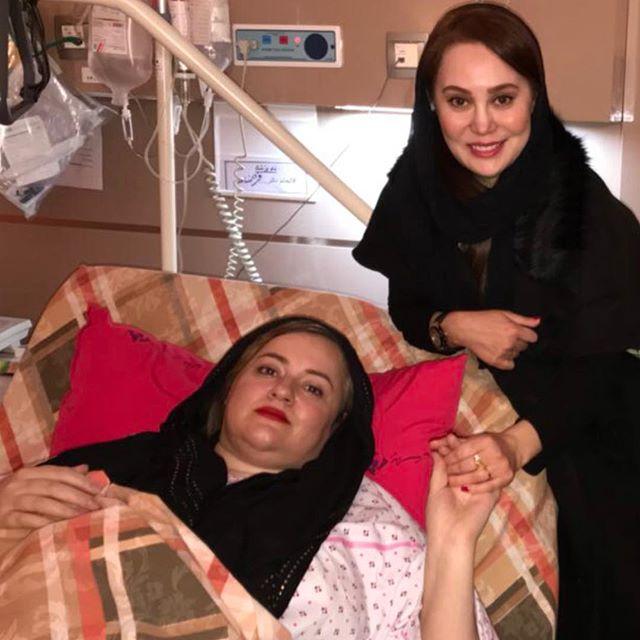 عکس ملاقات آرام جعفری با نعیمه نظام دوست