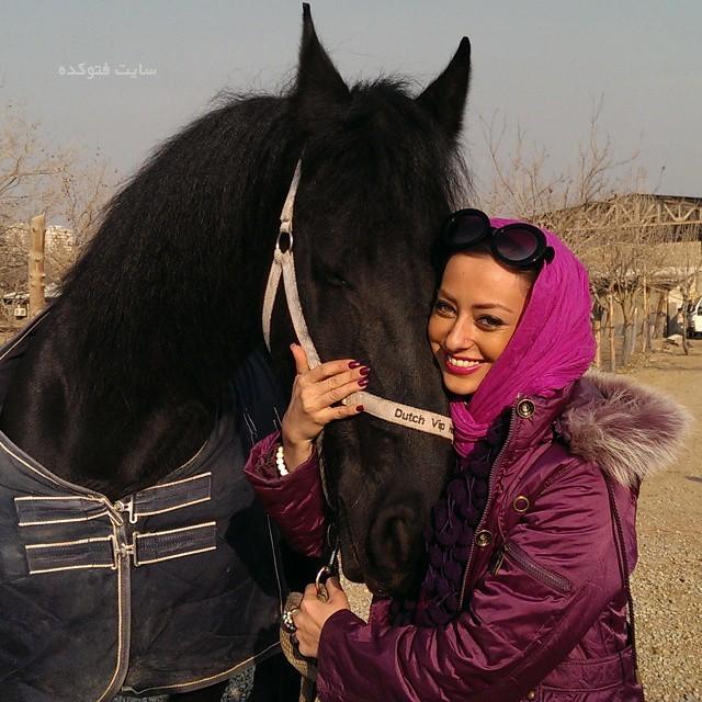 عکس جدید نفیسه روشن Nafiseh Roshan با زندگینامه شخصی