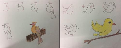 آموزش نقاشی زیبا با اعداد,نحوی نقاشی کردن با اعداد,در آوردن شکل خاص با استفاده از اعداد انگلیسی,آموزش نقاشی کشیدن حیوانات بصورت ساد و زیبا,نقاشی راحت
