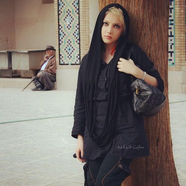 نهال سلطانی مدل ایرانی قبل از عمل