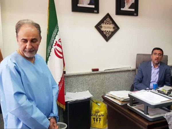 عکس های محمدعلی نجفی در دادسرای جنایی تهران