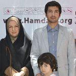 نجم الدین شریعتی و همسرش + بیوگرافی و پسرش