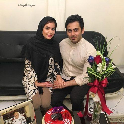 عکس نجمه جودکی و همسرش مهدی پارسازاده + بیوگرافی کامل