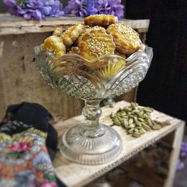 طرز تهیه شیرینی نان چای قزوین در سایت فتوکده