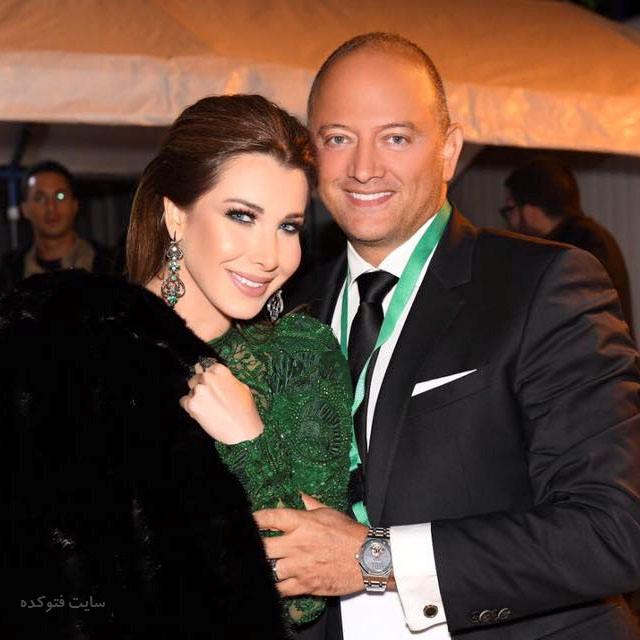 عکس نانسی عجرم و همسرش فادی الهاشم + بیوگرافی کامل