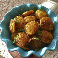 طرز تهیه ناگت مرغ با پفک بسیار ترد و خوشمزه