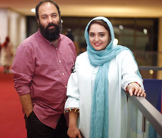 عکس علی اوجی و همسرش نرگس محمدی