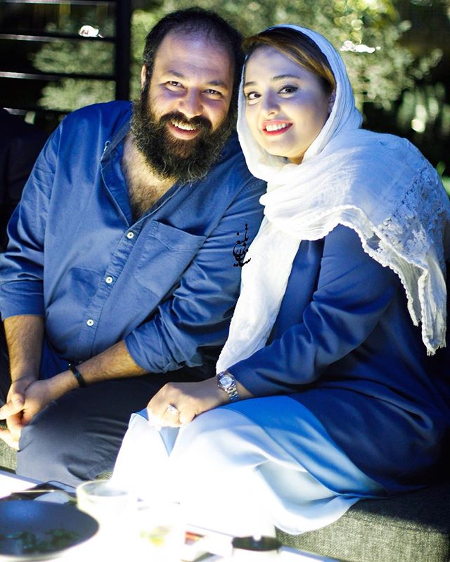 عکس نرگس محمدی و همسرش علی اوجی