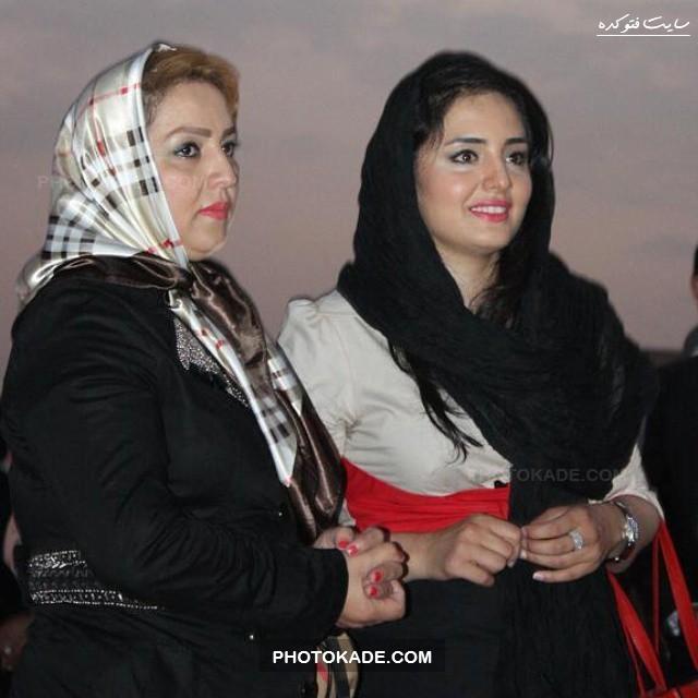 عکس نرگس محمدی و مادرش