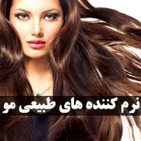 معرفی 30 نرم کننده طبیعی برای مو زنان و مردان