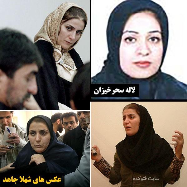 ناصر محمدخانی و همسرانش لاله سحرخیزان و شهلا جاهد