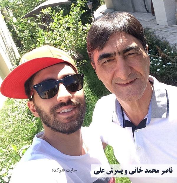Nasser Mohammadkhani و پسرش علی