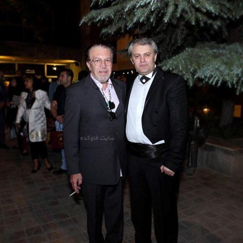 ناصر چشم آذر و رهبر کنسرتش