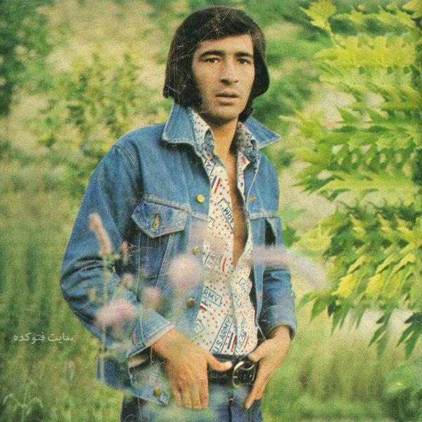 Nasser Hejazi در جوانی