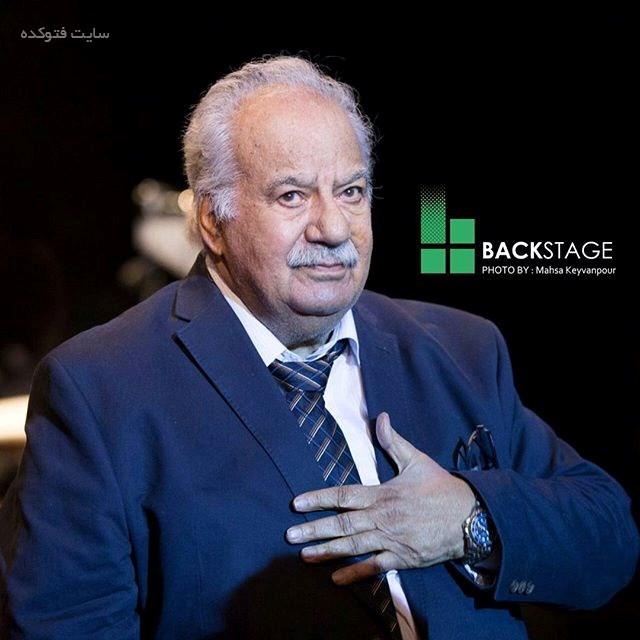 بیوگرافی ناصر ملک مطیعی با عکس جدید و همسرش