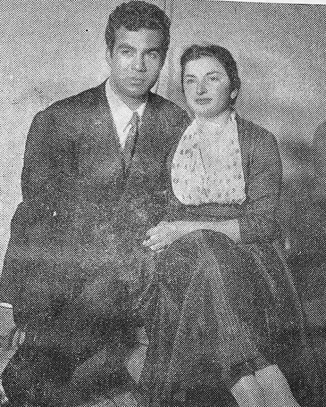 عکس ناصر ملک مطیعی و همسرش مهین + بیوگرافی