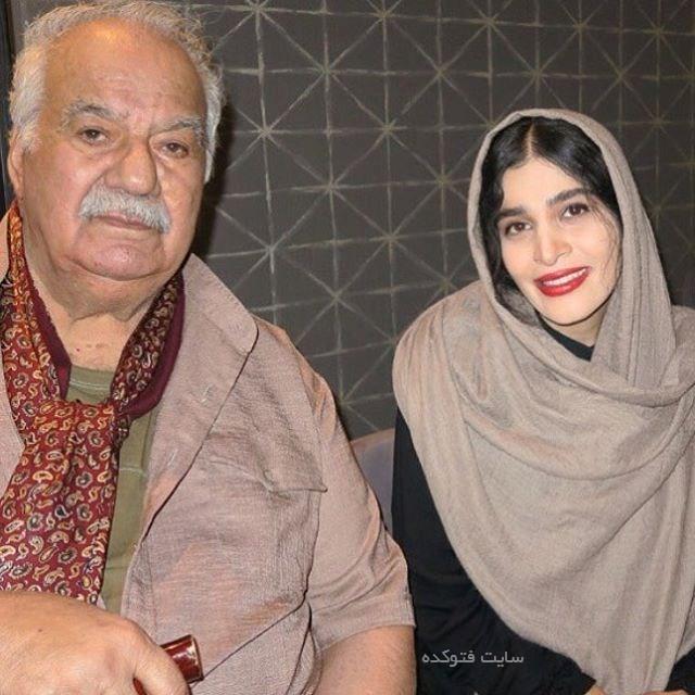 ناصر ملک مطیعی و اندیشه فولادوند + زندگینامه شخصی