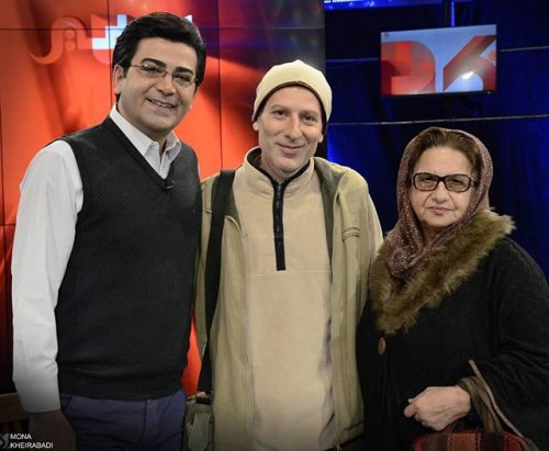 عکس رامین ناصر نصیر و مادرش در کنار فرزاد حسنی + بیوگرافی کامل