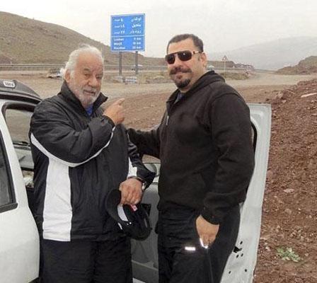 عکس ناصر ملک مطیعی و پسرش امیرعلی + بیوگرافی کامل