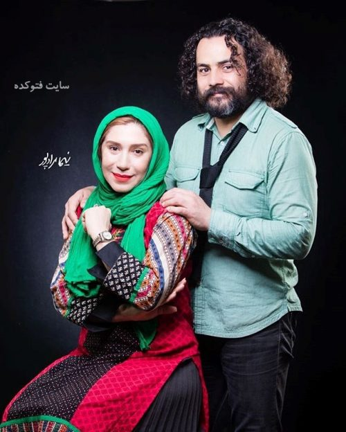 عکس نسیم ادبی و همسرش ابراهیم اثباتی + بیوگرافی کامل