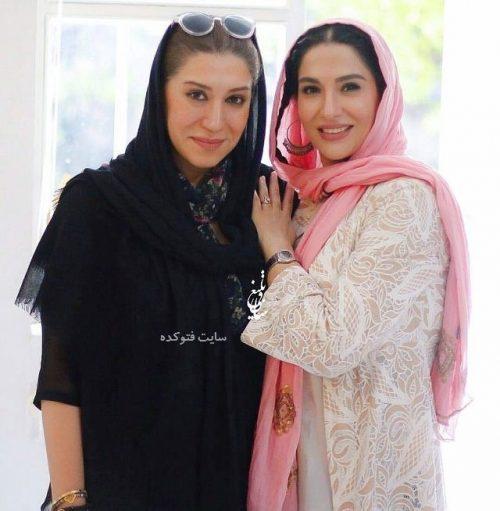 عکس ساغر عزیزی و نسیم ادبی + زندگینامه کامل