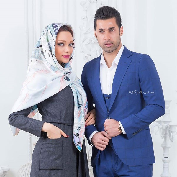 عکس نسیم نهالی و همسرش محسن فروزان