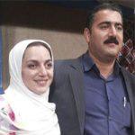 بیوگرافی نسرین بابایی | نسرین بابایی و همسرش