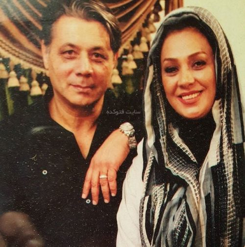 عکس نسرین مقانلو و همسرش کمال خلیلیان + بیوگرافی