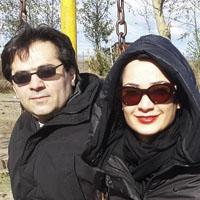 بیوگرافی نسرین نصرتی و همسرش سام پاک پیکار با عکس