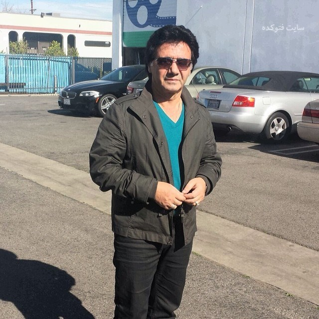 عکس معین خواننده لس آنجلسی بدون سبیل + زندگینامه و خانواده