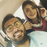 نوید عبداللهی | عکس و بیوگرافی نوید عبداللهی و همسرش