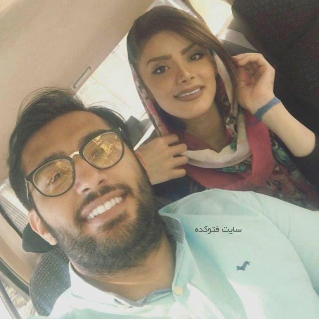 نوید عبداللهی و همسرش شادان اسکندریه