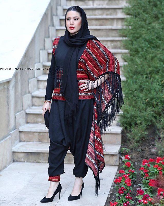 عکس لباس جنجال نازنین کریمی بازیگر زن + بیوگرافی